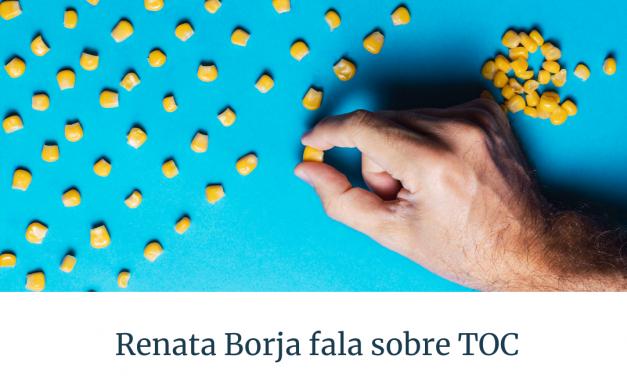 Renata Borja fala sobre TOC na TV Horizonte